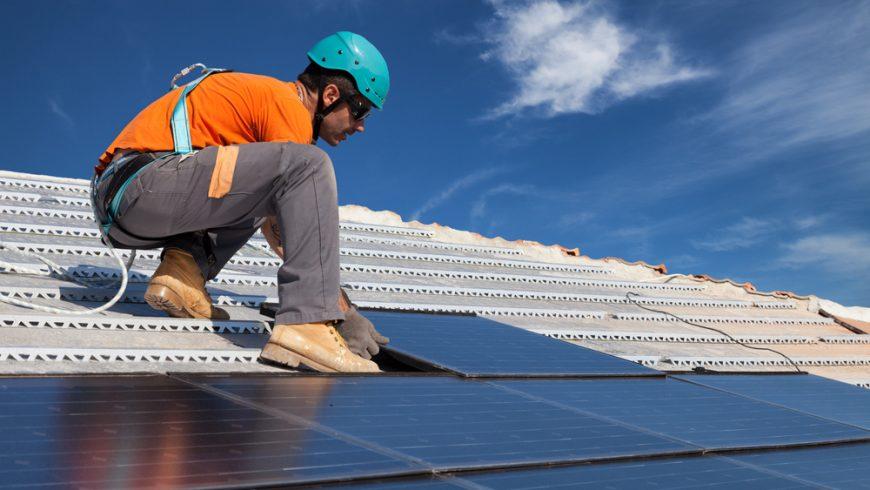 Montage af solcelleanlæg